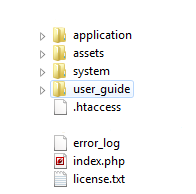 codeigniter assets folder